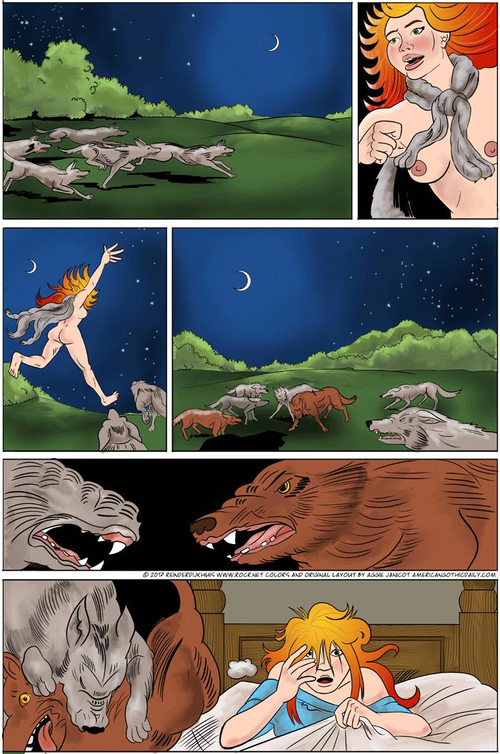 Run, run, run, run run, run, run with the wolf