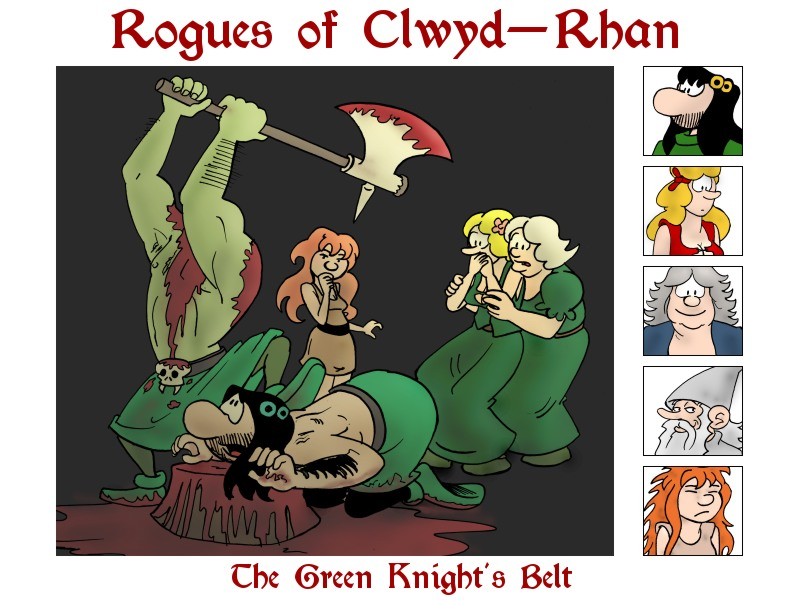The Green Knight's Belt